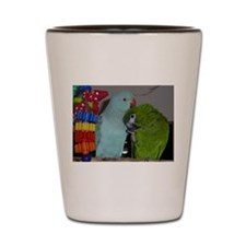 Indian Ringneck and Hahn's Ma Shot Glass