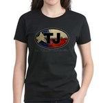 TJ THANG Women's Dark T-Shirt