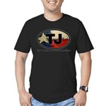 TJ THANG Men's Fitted T-Shirt (dark)