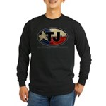 TJ THANG Long Sleeve Dark T-Shirt