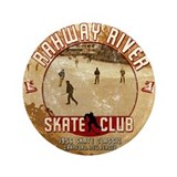 "Rahway River Skate Club 3.5"" Button"