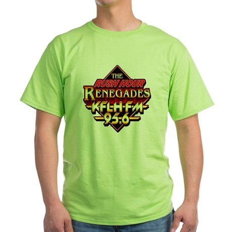 Rush Hour Renegades Green T-Shirt