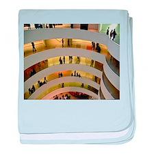 Guggenheim Museum: New York C baby blanket