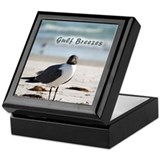 Laughing gull Keepsake Box