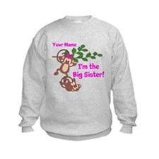 Big Sister Monkey Sweatshirt