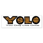 YOLO Tiger Sticker (Bumper 10 pk)