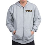 YOLO Tiger Zip Hoodie