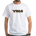 YOLO Tiger White T-Shirt
