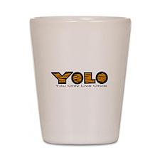 YOLO Tiger Shot Glass