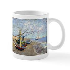 Van Gogh Fishing Boats Small Mugs