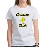 Aviation Chick Tee
