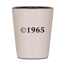 1965 Shot Glass