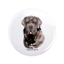 "Neapolitan Mastiff 9Y393D-053 3.5"" Button"