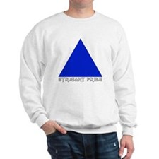 Straight Pride Metal Logo Sweatshirt