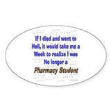 Pharmacist Humor Decal