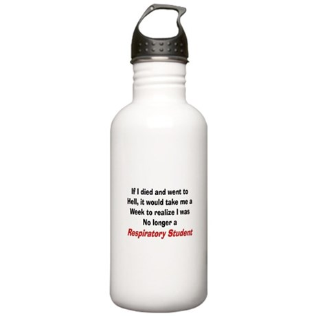 Respiratory Therapy XXX Stainless Water Bottle 1.0