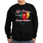 My heart belongs to a Cameroonian boy Sweatshirt (