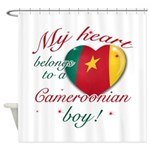 My heart belongs to a Cameroonian boy Shower Curta