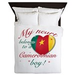 My heart belongs to a Cameroonian boy Queen Duvet