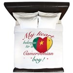 My heart belongs to a Cameroonian boy King Duvet