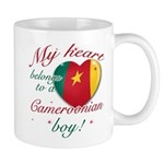 My heart belongs to a Cameroonian boy Mug