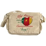 My heart belongs to a Cameroonian boy Messenger Ba