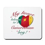 My heart belongs to a Cameroonian boy Mousepad
