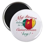 My heart belongs to a Cameroonian boy Magnet