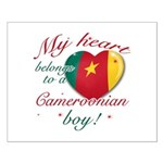 My heart belongs to a Cameroonian boy Small Poster