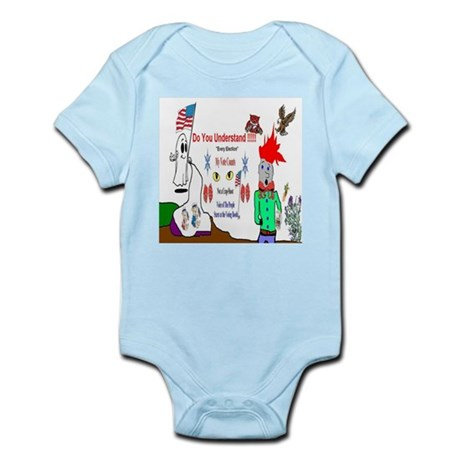Elections and My Vote Counts Infant Bodysuit