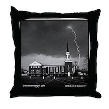 Willard Street Methodist Church Throw Pillow