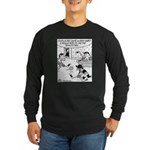 Cat Penalty Litterbox Long Sleeve Dark T-Shirt