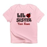 Little Sister Ladybug Infant T-Shirt