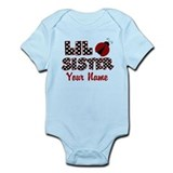 Little Sister Ladybug Infant Bodysuit