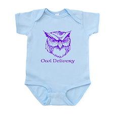 Owl Delivery Infant Bodysuit