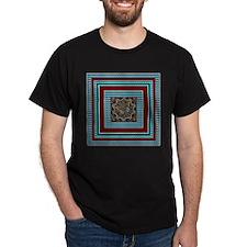 Shy Butterfly Black T-Shirt