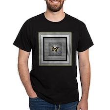 Butterfly Sentinel Black T-Shirt