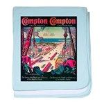 Compton baby blanket