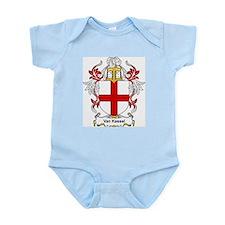 Van Kessel Coat of Arms Infant Creeper