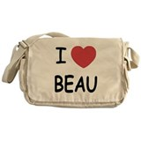 I heart beau Messenger Bag