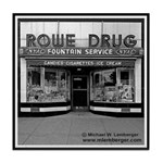 Rowe Drug Tile Coaster