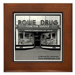 Rowe Drug Framed Tile