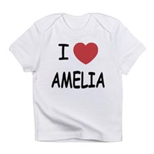 I heart amelia Infant T-Shirt