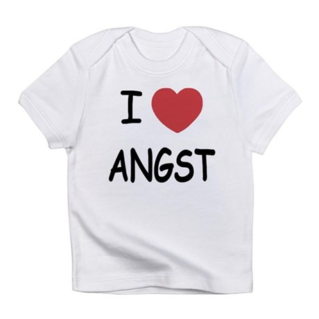 I heart angst Infant T-Shirt