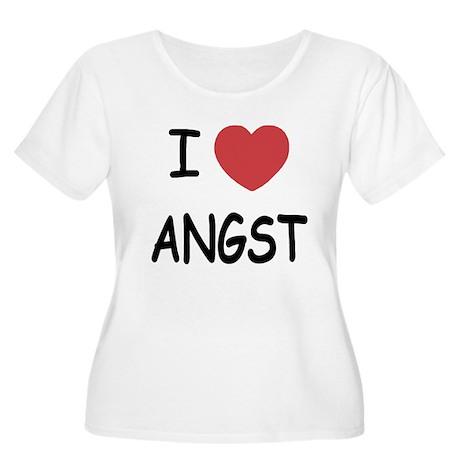 I heart angst Women's Plus Size Scoop Neck T-Shirt