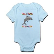Awesome Dolphins Infant Bodysuit