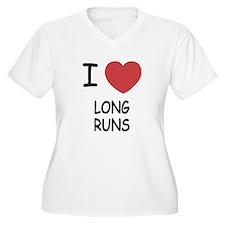I heart long runs T-Shirt