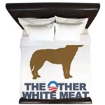 Dog, The Other White Meat King Duvet