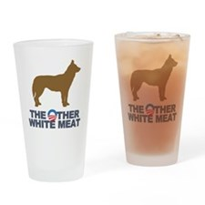 Dog, The Other White Meat Drinking Glass