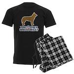 Dog, The Other White Meat Men's Dark Pajamas